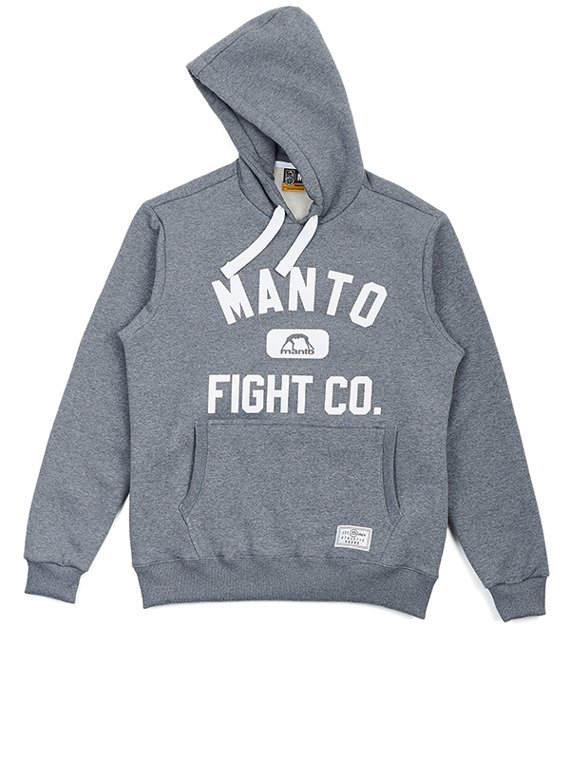 MANTO hoodie tracksuit FIGHT CO melange
