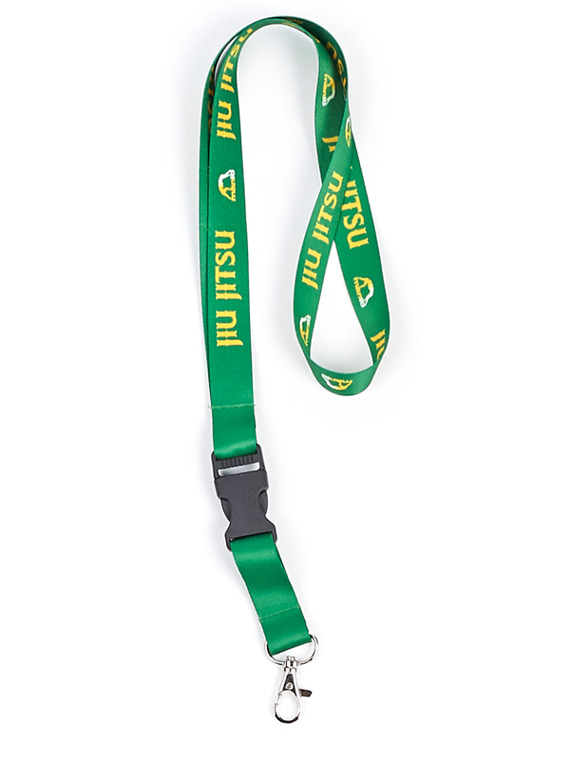 MANTO key holder JIU JITSU  green