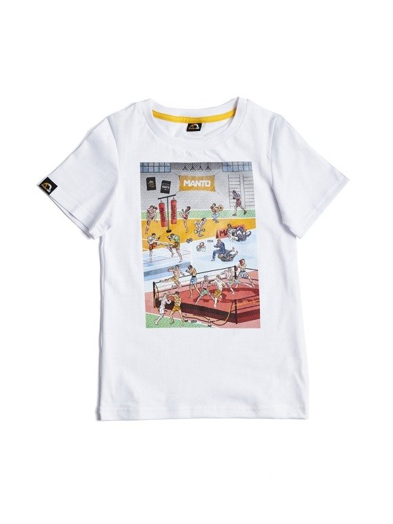 MANTO kids t-shirt GYM white