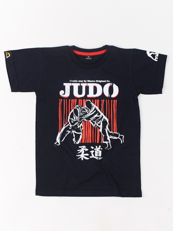 MANTO kids t-shirt JUDO black