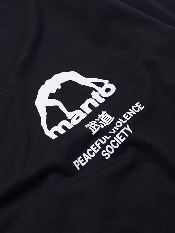 MANTO longsleeve SOCIETY black