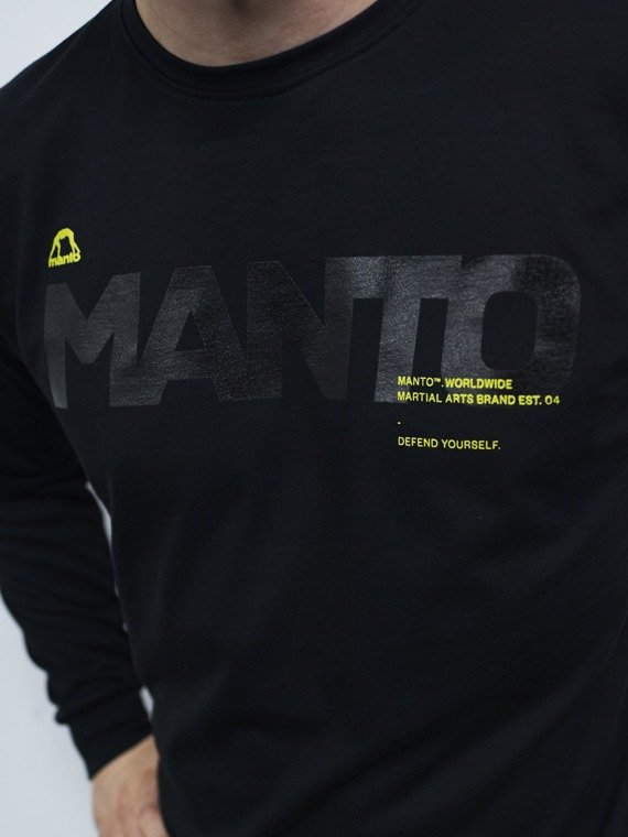 MANTO longsleeve TYPE black