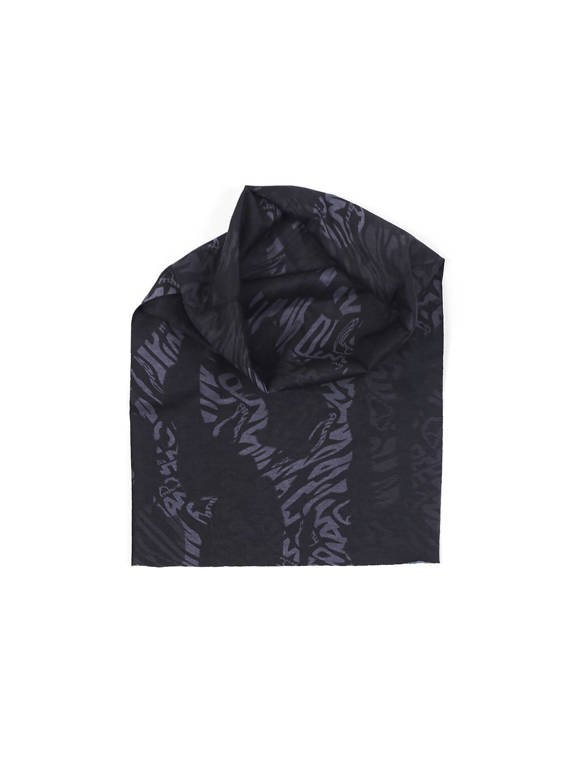 "MANTO multiscarf ""CAMO BLACK"""