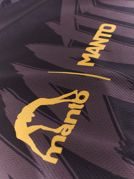 MANTO performance t-shirt HYPER black/yellow