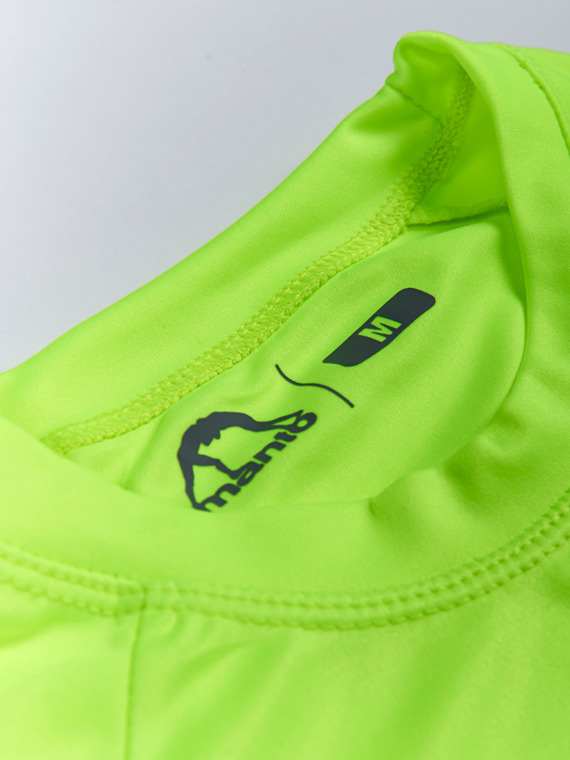 MANTO performance t-shirt NEON