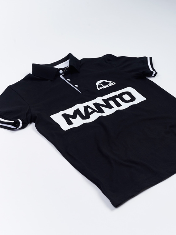 MANTO polo VICTORY black