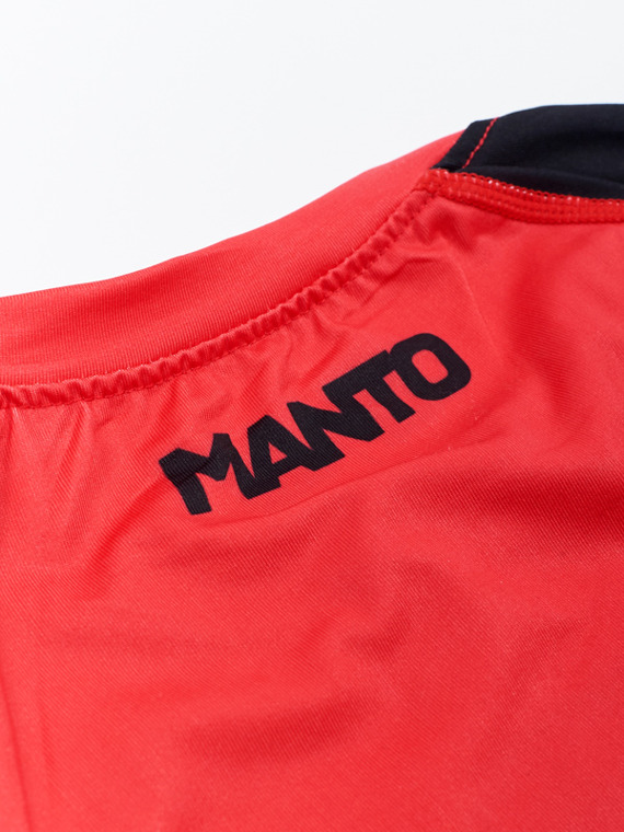 MANTO rashguard LOGO red