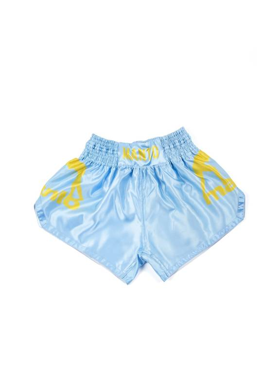 MANTO shorts MUAY THAI DUAL light blue