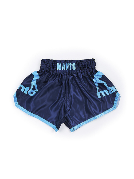 MANTO shorts MUAY THAI DUAL navy blue