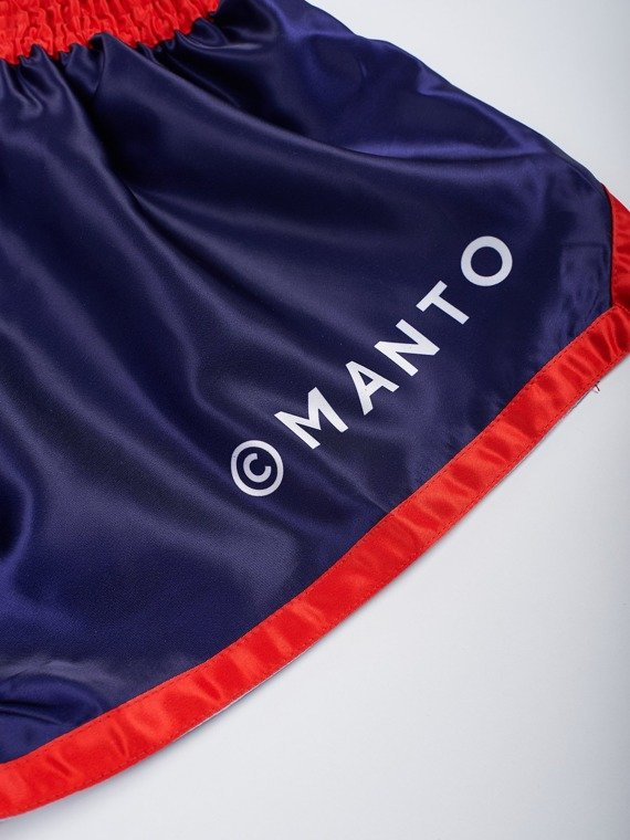 MANTO shorts MUAY THAI SUPPLY blue