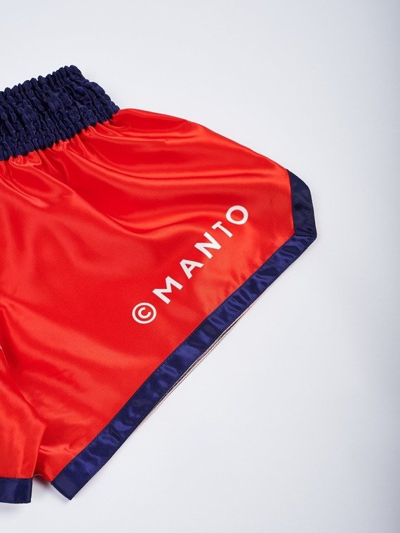 MANTO shorts MUAY THAI SUPPLY red