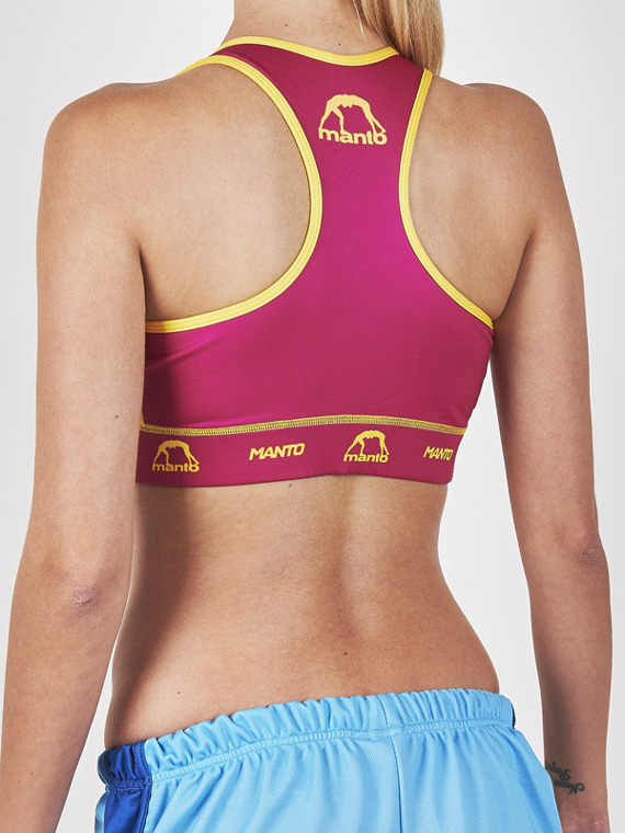 MANTO sports bra ANGIE amarant