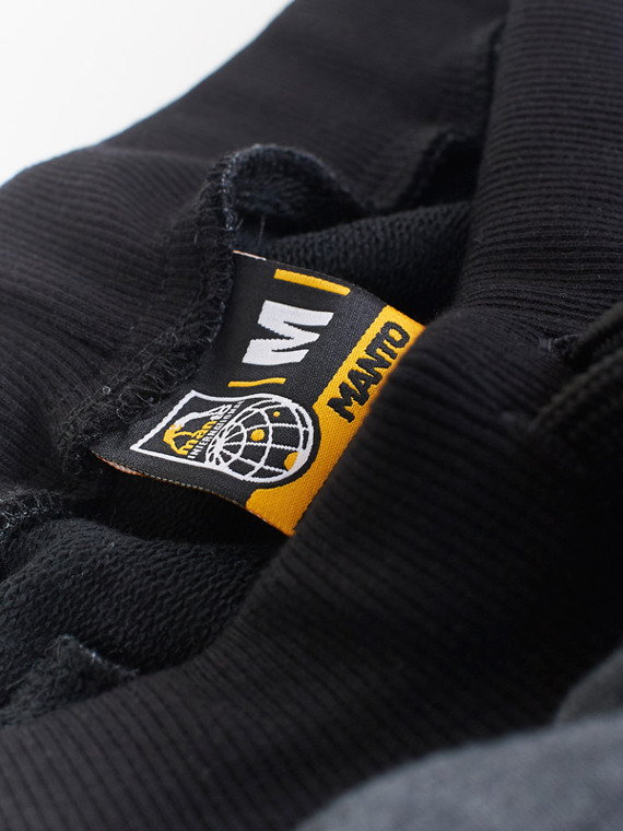 MANTO sweatpants ARC black