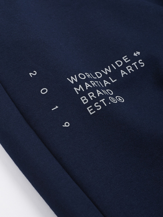 MANTO sweatpants ELEMENTS navy blue