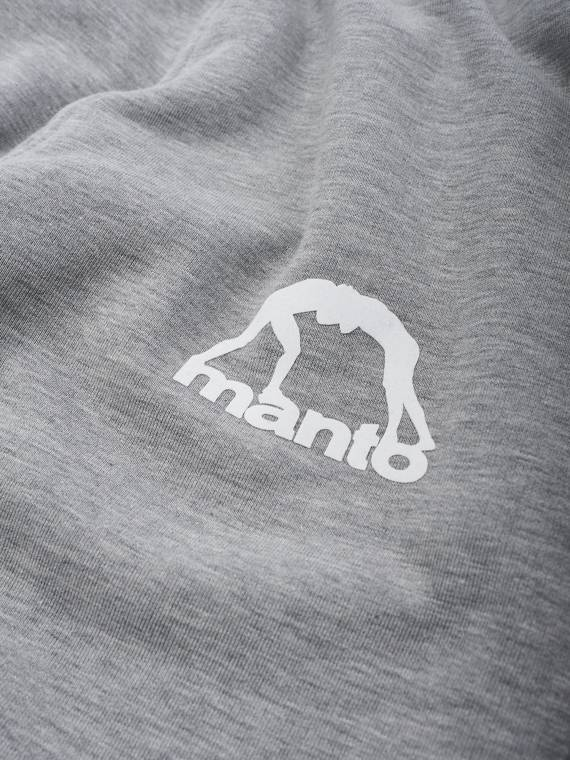 MANTO sweatpants PARIS heather grey