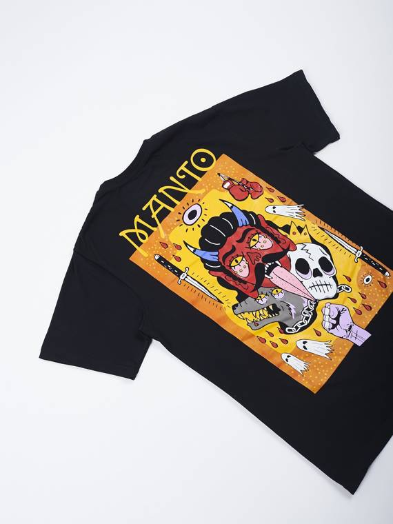 MANTO t-shirt DIABLO black