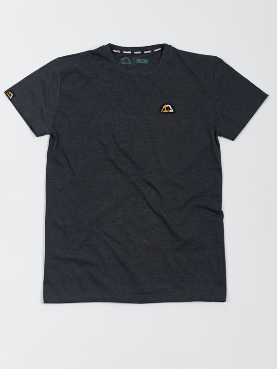 MANTO t-shirt EMBLEM graphite