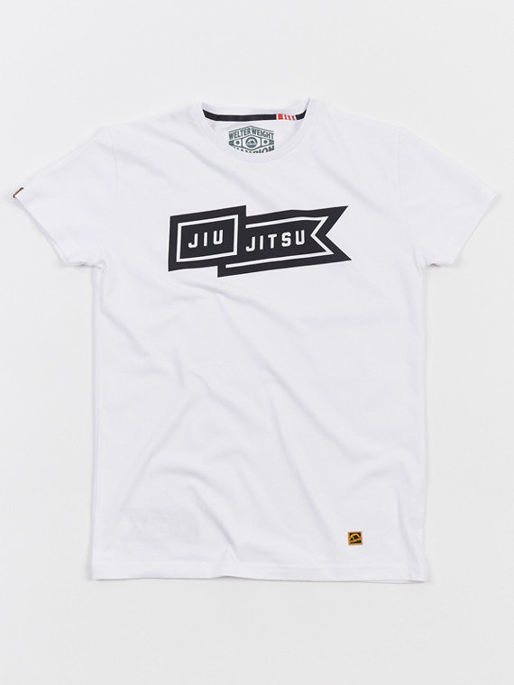 MANTO t-shirt FLAG white