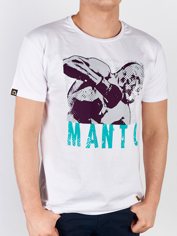 MANTO t-shirt HAMMER FIST white