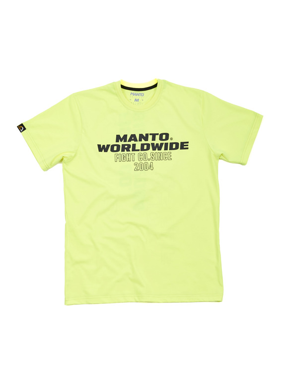 MANTO t-shirt HEAT green