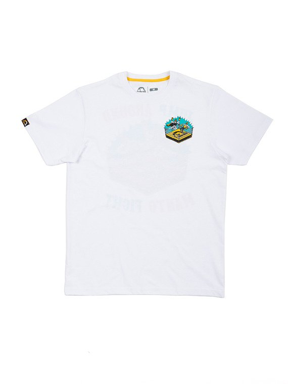 MANTO t-shirt JUMP white