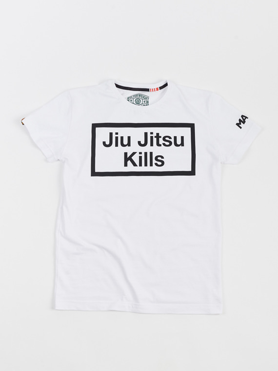 MANTO t-shirt KILLS white