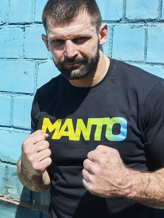 MANTO t-shirt LOGOTYPE RIO black