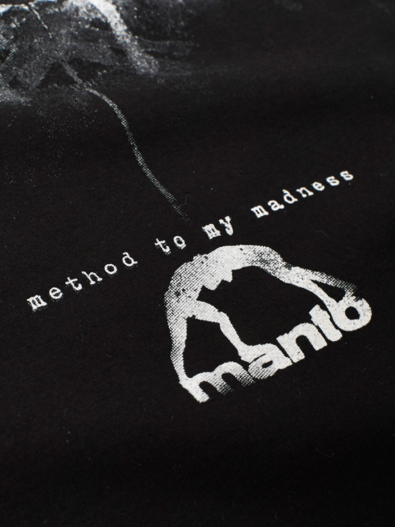 MANTO t-shirt MADNESS black