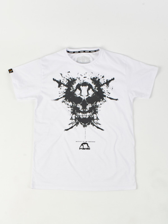MANTO t-shirt MADNESS white