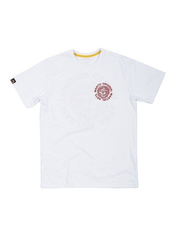 MANTO t-shirt MARTIAL ARTS white