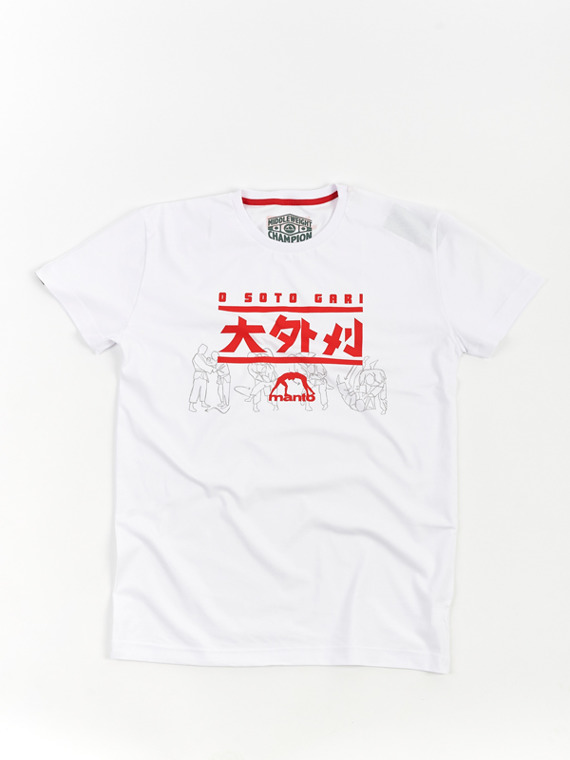 MANTO t-shirt OSOTO white