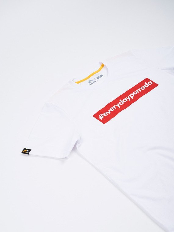 MANTO  t-shirt EVERYDAYPORRADA white