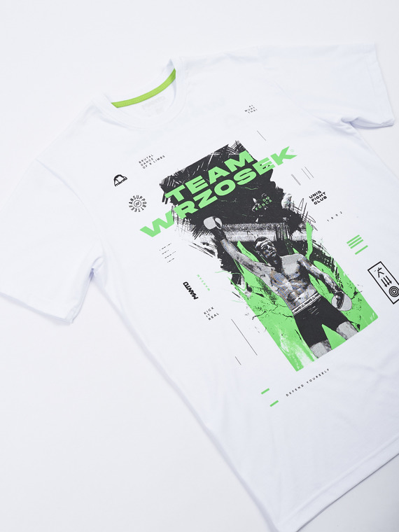 MANTO t-shirt TEAM WRZOSEK white