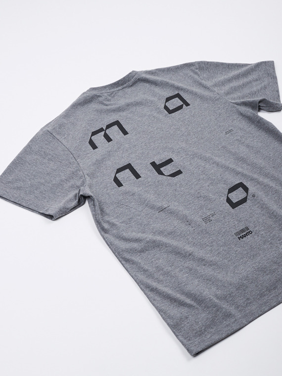 MANTO t-shirt TECH melange