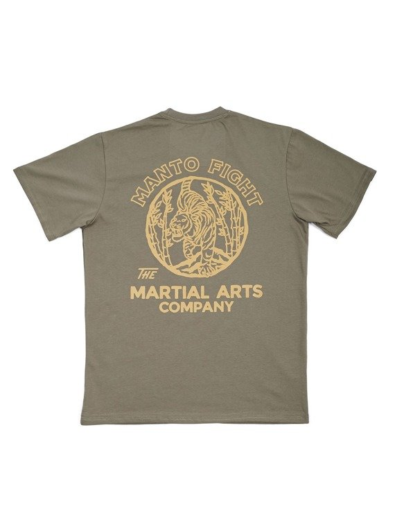 MANTO t-shirt TIGER olive