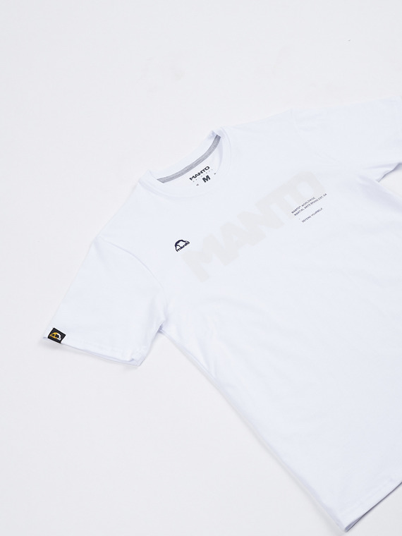 MANTO t-shirt TYPE white