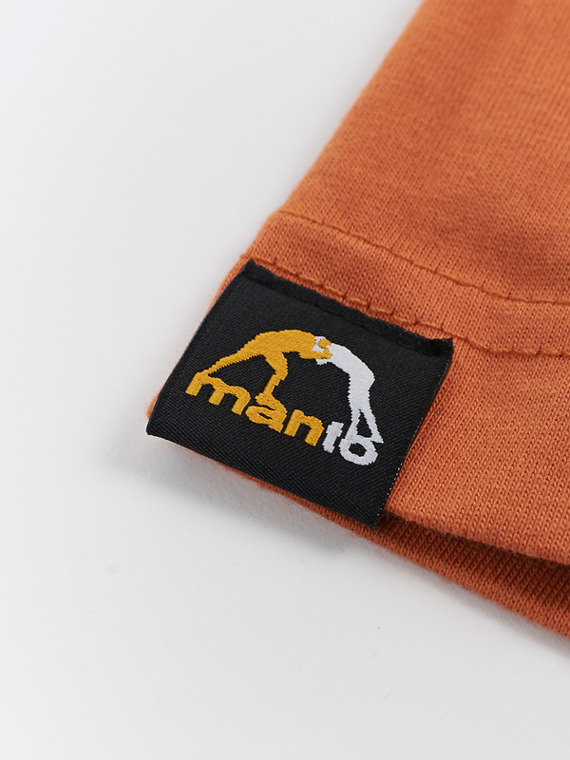 MANTO t-shirt VIBE orange