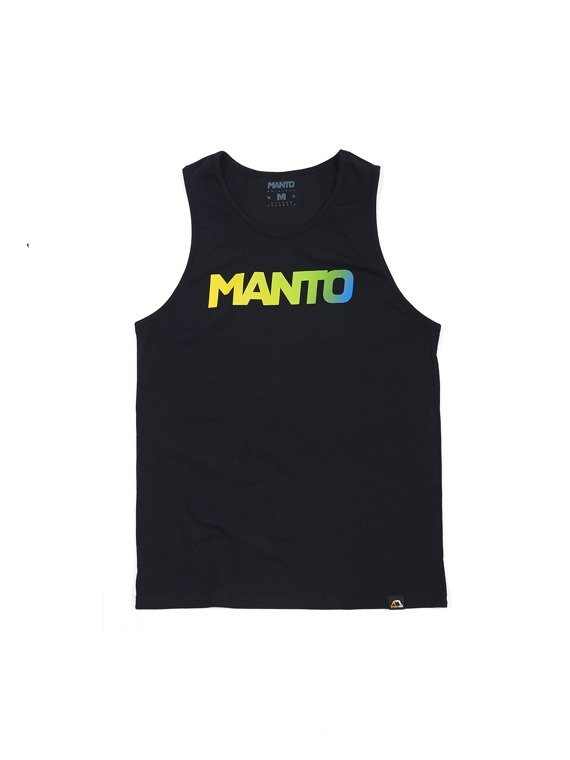MANTO tank top LOGOTYPE RIO black