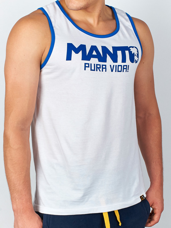 MANTO tank top PURA VIDA white
