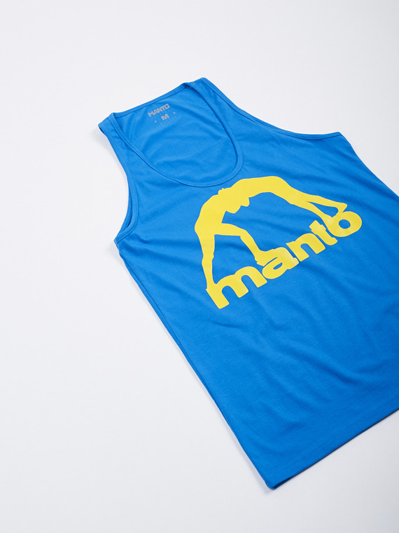 MANTO tank top VIBE royal blue
