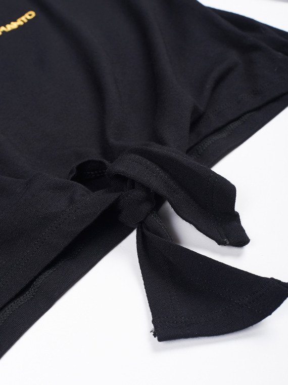 MANTO top longsleeve FLASH black