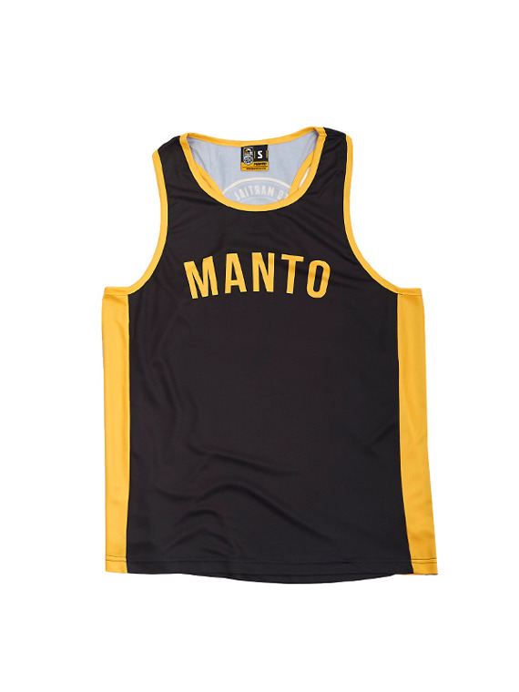 MANTO training tank top ARC black