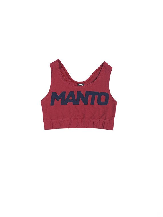 MANTO training top SPORT maroon