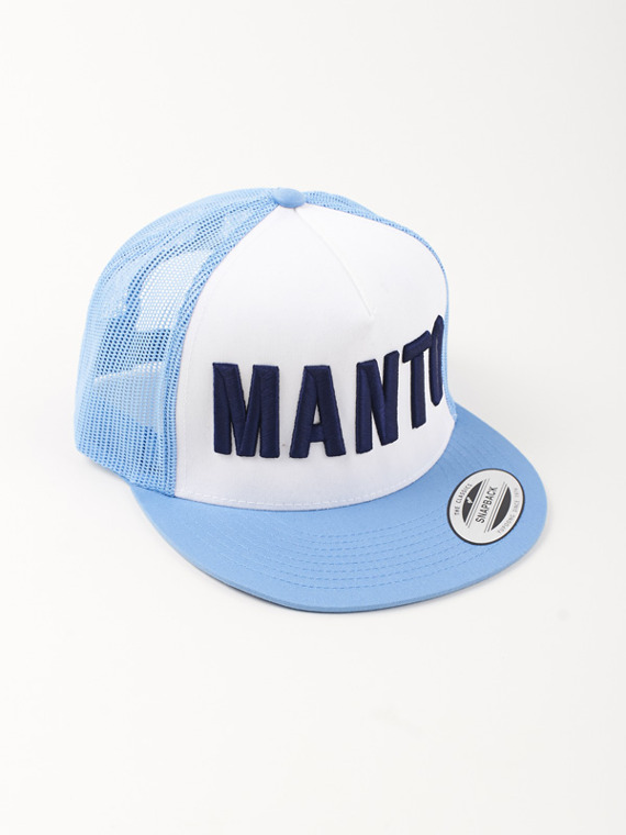 MANTO trucker cap EAZY light blue