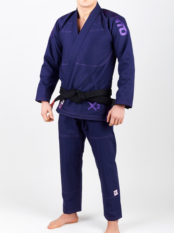 "Manto ""X2"" BJJ GI navy blue"