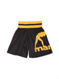 MANTO boxing mesh shorts LOGO black