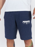 MANTO cotton shorts COMBO LIGHT denim blue
