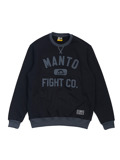 MANTO crewneck FIGHT CO black