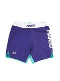 MANTO fight shorts STRIPE purple
