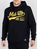 MANTO hoodie NUMBER ONE black
